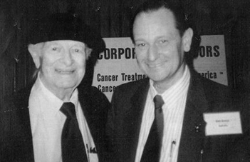 Dr Rober Grace with Dr Linus Pauling